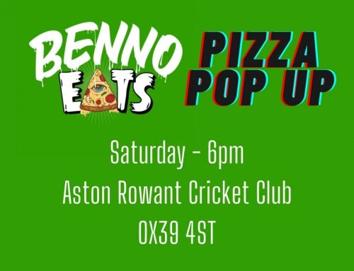 Pizzas at ARCC – Saturday nights from 6pm