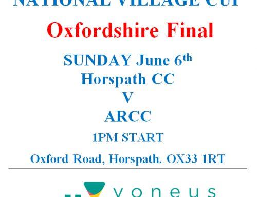 NVKO Oxfordshire Final